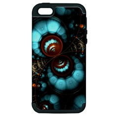 Spiral Background Form 3840x2400 Apple Iphone 5 Hardshell Case (pc+silicone) by amphoto
