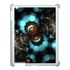Spiral Background Form 3840x2400 Apple Ipad 3/4 Case (white) by amphoto