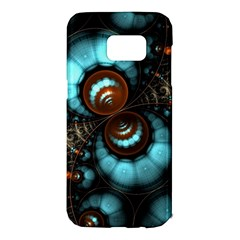 Spiral Background Form 3840x2400 Samsung Galaxy S7 Edge Hardshell Case by amphoto