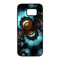 Spiral Background Form 3840x2400 Samsung Galaxy S7 Edge Black Seamless Case by amphoto