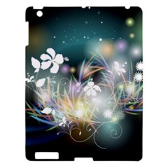 Abstraction Color Pattern 3840x2400 Apple Ipad 3/4 Hardshell Case by amphoto