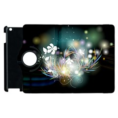 Abstraction Color Pattern 3840x2400 Apple Ipad 3/4 Flip 360 Case by amphoto