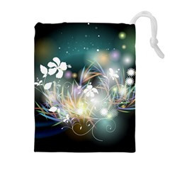 Abstraction Color Pattern 3840x2400 Drawstring Pouches (extra Large) by amphoto