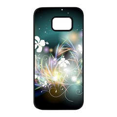 Abstraction Color Pattern 3840x2400 Samsung Galaxy S7 Edge Black Seamless Case by amphoto