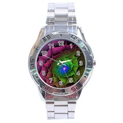 Immersion Light Color  Stainless Steel Analogue Watch by amphoto