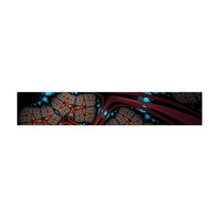 Surface Grid Lines  Flano Scarf (mini) by amphoto