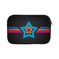 Star Background Colorful  Apple Ipad Mini Zipper Cases by amphoto