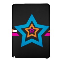 Star Background Colorful  Samsung Galaxy Tab Pro 10 1 Hardshell Case by amphoto