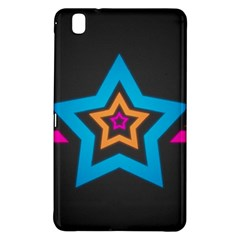 Star Background Colorful  Samsung Galaxy Tab Pro 8 4 Hardshell Case by amphoto