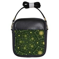 Shape Surface Patterns  Girls Sling Bags by amphoto