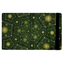 Shape Surface Patterns  Apple Ipad 3/4 Flip Case by amphoto