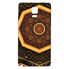 Light Surface Lines  Galaxy Note 4 Back Case by amphoto