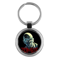 Zombie Key Chains (round)  by Valentinaart