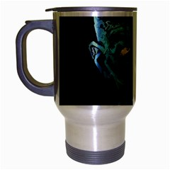 Zombie Travel Mug (silver Gray) by Valentinaart
