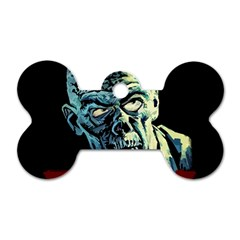 Zombie Dog Tag Bone (one Side) by Valentinaart