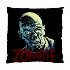 Zombie Standard Cushion Case (two Sides) by Valentinaart