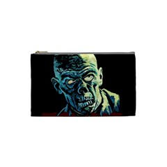 Zombie Cosmetic Bag (small)  by Valentinaart