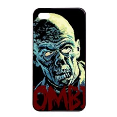 Zombie Apple Iphone 4/4s Seamless Case (black) by Valentinaart