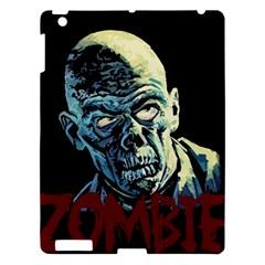 Zombie Apple Ipad 3/4 Hardshell Case by Valentinaart
