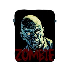 Zombie Apple Ipad 2/3/4 Protective Soft Cases by Valentinaart