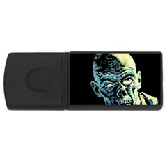 Zombie Rectangular Usb Flash Drive by Valentinaart