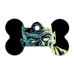 Zombie Dog Tag Bone (two Sides) by Valentinaart