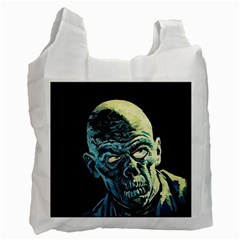 Zombie Recycle Bag (two Side)  by Valentinaart