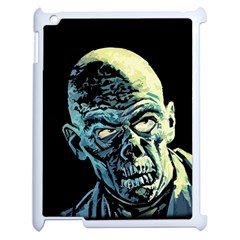Zombie Apple Ipad 2 Case (white) by Valentinaart