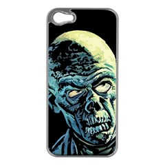 Zombie Apple Iphone 5 Case (silver) by Valentinaart