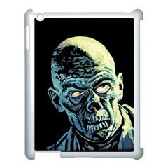 Zombie Apple Ipad 3/4 Case (white) by Valentinaart