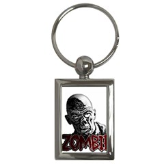 Zombie Key Chains (rectangle)  by Valentinaart