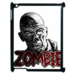 Zombie Apple Ipad 2 Case (black) by Valentinaart