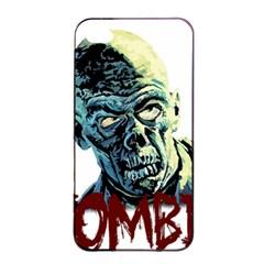 Zombie Apple Iphone 4/4s Seamless Case (black) by Valentinaart