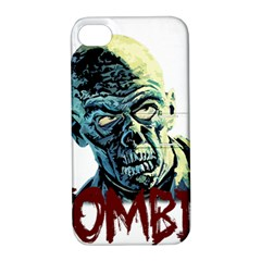 Zombie Apple Iphone 4/4s Hardshell Case With Stand by Valentinaart