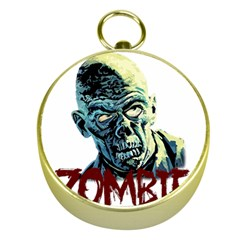 Zombie Gold Compasses by Valentinaart