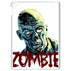 Zombie Apple Ipad Pro 9 7   White Seamless Case by Valentinaart