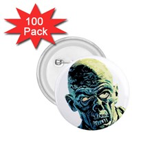 Zombie 1 75  Buttons (100 Pack)  by Valentinaart