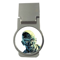 Zombie Money Clips (round)  by Valentinaart
