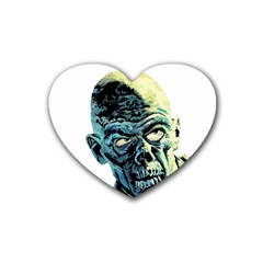 Zombie Heart Coaster (4 Pack)  by Valentinaart