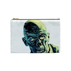 Zombie Cosmetic Bag (medium)  by Valentinaart