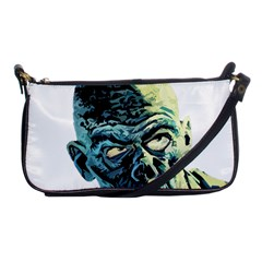 Zombie Shoulder Clutch Bags by Valentinaart