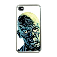 Zombie Apple Iphone 4 Case (clear) by Valentinaart