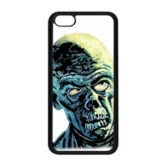 Zombie Apple Iphone 5c Seamless Case (black) by Valentinaart