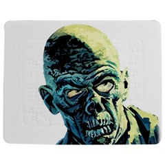 Zombie Jigsaw Puzzle Photo Stand (rectangular) by Valentinaart