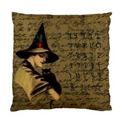 Witchcraft Vintage Standard Cushion Case (two Sides) by Valentinaart