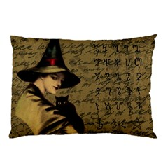 Witchcraft Vintage Pillow Case by Valentinaart