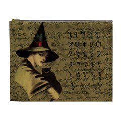 Witchcraft Vintage Cosmetic Bag (xl) by Valentinaart