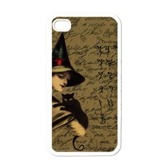 Witchcraft Vintage Apple Iphone 4 Case (white) by Valentinaart