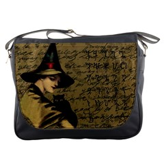 Witchcraft Vintage Messenger Bags by Valentinaart