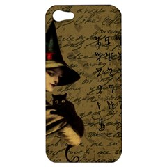 Witchcraft Vintage Apple Iphone 5 Hardshell Case by Valentinaart